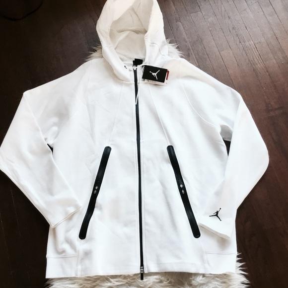 9f42d9fb5e797b Nike Air Jordan 3xl Lite Tech Fleece Hoodie White